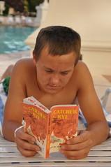Summer Reading List - 2011 (sfPhotocraft) Tags: summer book lasvegas nevada patrick paperback poolside catcherintherye summerreading 2011
