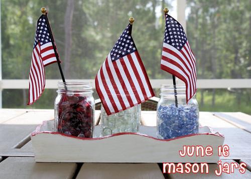 June 16--Mason jars