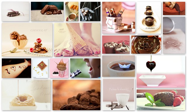 craquelier collag chocolate