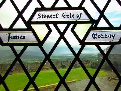 Stirling Castle window