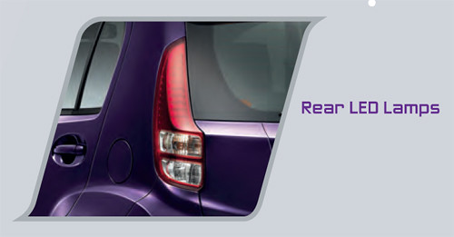 Perodua MyVi 2011 : Rear LED Lamps