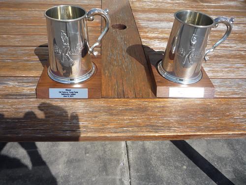 Pewter Mugs Trophies