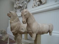 Greek Temple Room, Pergamon Museum, Berlin IMG_5982 (geoferrier) Tags: bridge horse berlin museum bronze tile dolphin greektemple