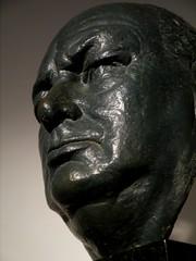 Winston Churchill by Clare Sheridan (jacquemart) Tags: portrait bronze wwii bust winstonchurchill blenheimpalace jowls gravitas britishbulldog claresheridan