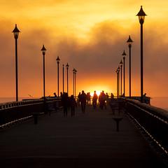 20140427_0211_1D3-200 Pier Sunrise (johnstewartnz) Tags: sun sunrise canon eos dawn pier 70200 newbrighton 70200mm 200mm newbrightonpier 1dmarkiii 1d3 1dmark3 wonderfulword unlimitedphotos