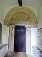 Egleton Rutland (jmc4 - Church Explorer) Tags: egleton church rutland porch tympanum arch carving