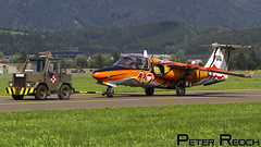 RF-26 / Austrian Air Force / SAAB 105 (Peter Reoch Photography) Tags: zeltweg air base airshow display show flying airpower16 airpower austria austrian force aviation aircraft saab 105 tiger nato meet ntm association nta paint scheme special