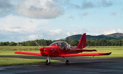 G-FLYJ Eurostar, Scone (wwshack) Tags: egpt eurostar evector perthairport scone sconeairport scotland gflyj