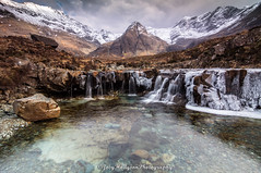 Fairy Pools - Isle of Skye (Joey Hodgson) Tags: fairy fairypools falls water waterfalls frozenwaterfalls ice snow mountains cold clear clouds scotland isleofskye skye uk sony sonya55 sonycamera alpha landscape landscapephotography photography photo dream