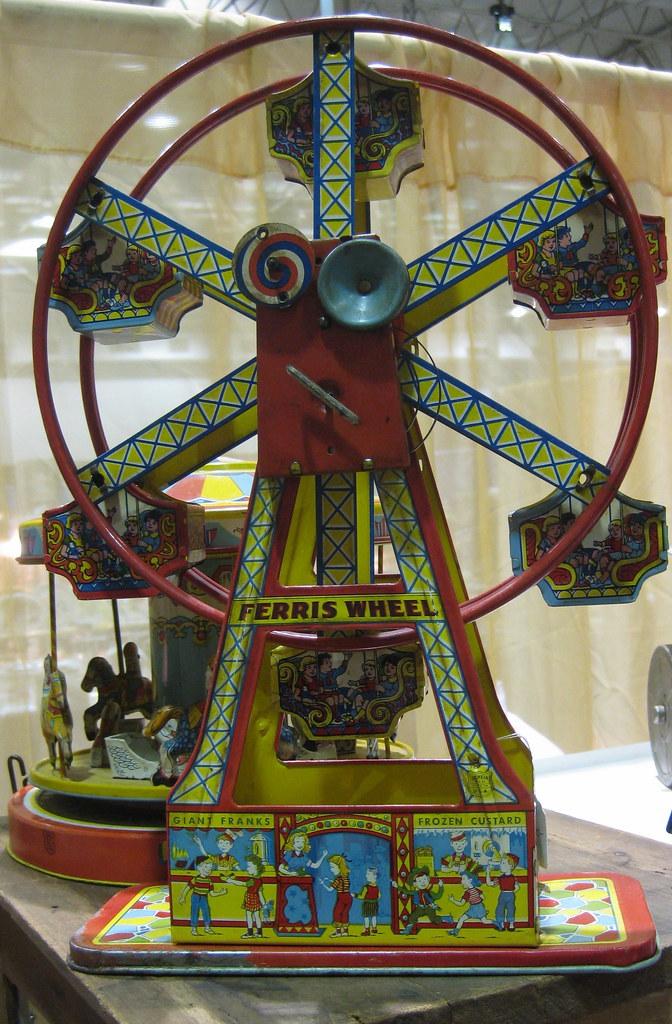 Vintage ferris wheel toy