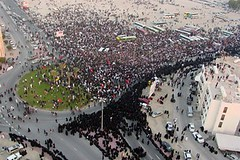 Bahrain Revolution (shabbirhtz) Tags: bahrain lulu khalifa revolution pearl feb14 wefaq
