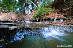 Waterthrush Falls (DMarcumPhotography) Tags: ohio nature forest landscape waterfall woods stream valley ravine mesopotamia creak