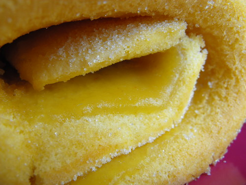Torta com recheio de doce da Clau