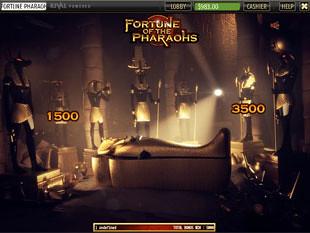 free Fortune of the Pharaohs slot bonus feature 1