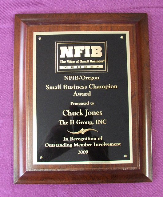 NFIB/Oregon Small Business Champion