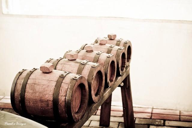 酒醋的桶子