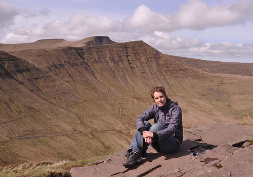 Me (with Cribyn, Pen Y Fan & Corn Du Peaks)