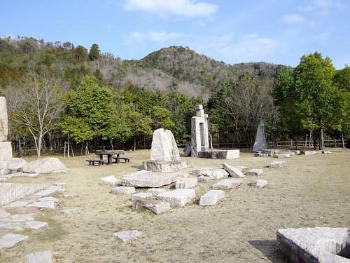 八塔寺川ダム石彫公園