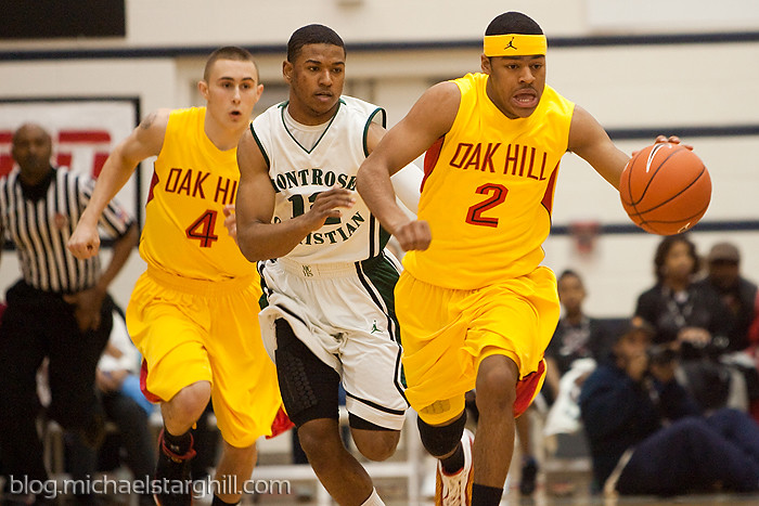 National High School Invitational Montrose Christian Oak Hill Basketball