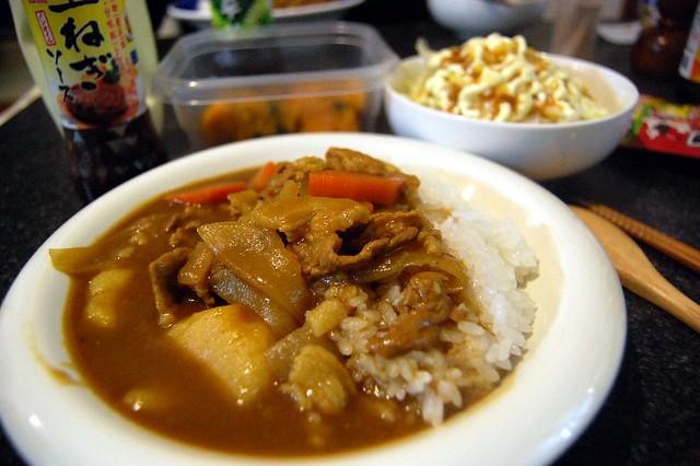 カレーって美味しいですね。今日の隠し味は玉ねぎソースだそうですよ! #jisui