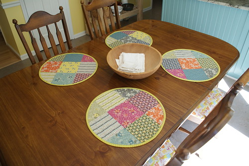 Quilted Placemats 1