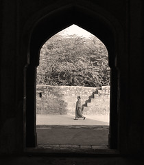 walker #1 (parth joshi) Tags: dawn cycling child squirrell muses desolate mehrauli monumentsindelhi bhattimines adamkhanstomb