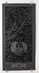 Aaron Horkey (TT Underground) Tags: art japan painting print screenprint ebay auction benefit globalgiving japanredcross ttunderground arronhorkey