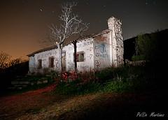 La casa abandonada (paco.ghun) Tags: madrid pentax casas nocturnas k20 patones k20d pa©omartínez pacoghun