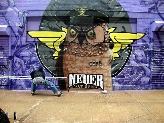 Never - Street art