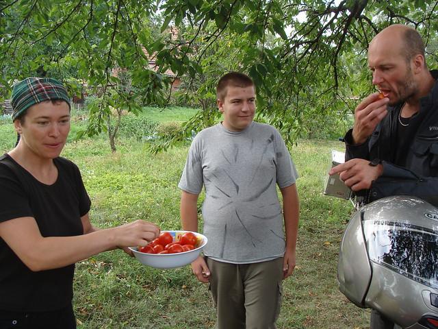 Angharad, Zsolt & Jon