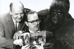 Forry and Don (toyranch) Tags: monster forest j post mask gorilla famous hollywood don monsters forry ackerman filmland