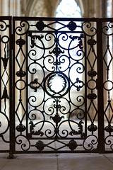 Portail en fer forg (zigazou76) Tags: fer portail saintouen abbatiale forg