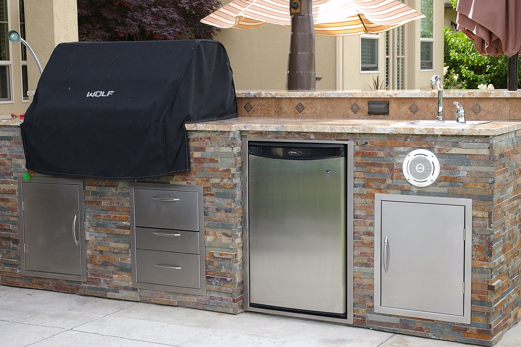 Outdoor Kitchen close up view