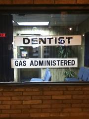 Dentist Gas Administered, 2011 (Maulleigh) Tags: pain harlem gas dentist consumerist