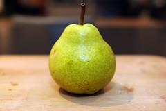a lone pear