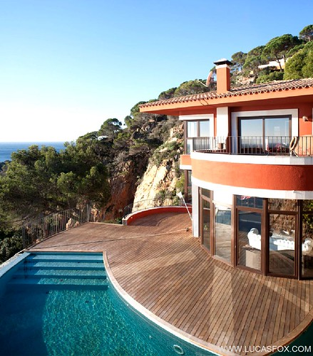 Villa exterior - villa for sale costa brava - spain