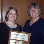 2009 recipient, Kathryn Gavelle -