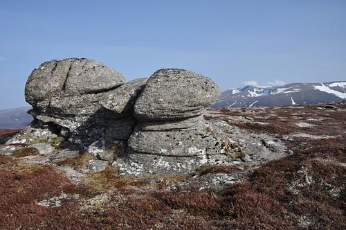 Granite Tor on Clach Choutsaich