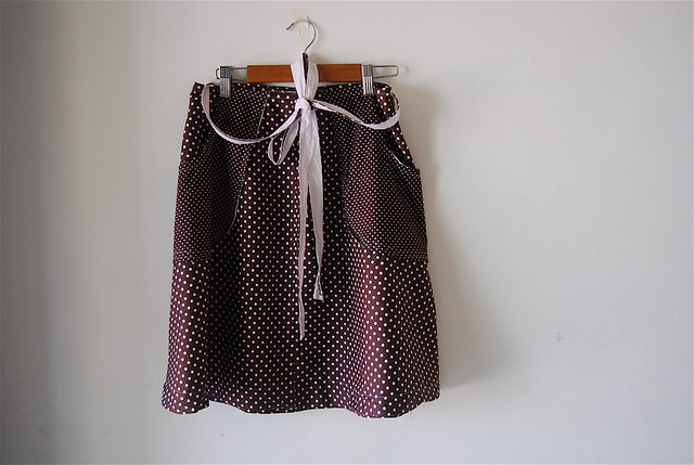 'too many dots' skirt