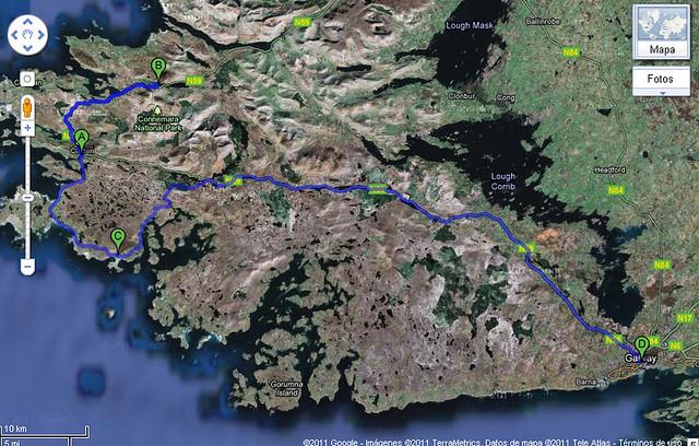 Mapa-Clifden-Galway