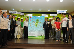 林務局各主管共同簽署愛護台灣山林共同宣言