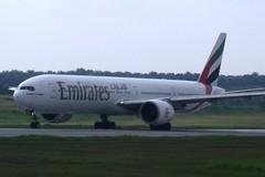 Emirates 777 in Kuala Lumpur