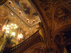 Garnier's Paris Opéra, Grand Stair from Below