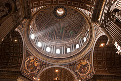Inside St. Peter's Cathedral (Mad2PhoFreak) Tags: vatican rome st museum square ruins cathedral steps pantheon colosseum santamaria peters