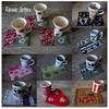 Mosaisco Mug Rugs (**DASDE Artes!**) Tags: caneca mugrug tapetedecaneca