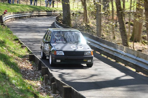 RacingPug at Doune Speed Hillclimb April 2011