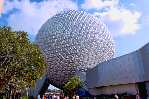 Daily Disney - Spaceship Earth