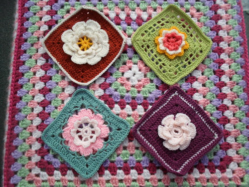 Great Flower Squares for SIBOL. Thank you so much!