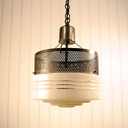 Industrial Original Mix Media Pendant Light