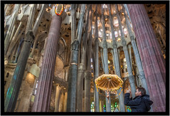 Barcelona - Sagrada Photo (Photography Yoshi) Tags: spain sagradafamilia hdr